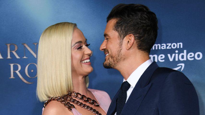 Geburtsdetails: Orlando Bloom filmte Katy Perry im Kreißsaal