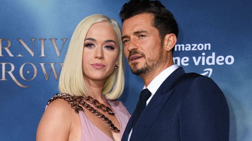 Katy Perry und Orlando Bloom, 2019