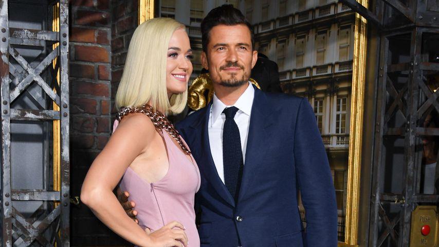 Katy Perry und Orlando Bloom im August 2019 in Hollywood