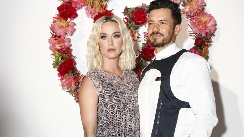 Katy Perry und Orlando Bloom im Juli 2021