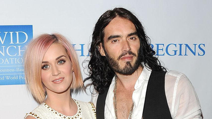Wie reagiert Ex Russell Brand auf Katy Perrys Baby-News?