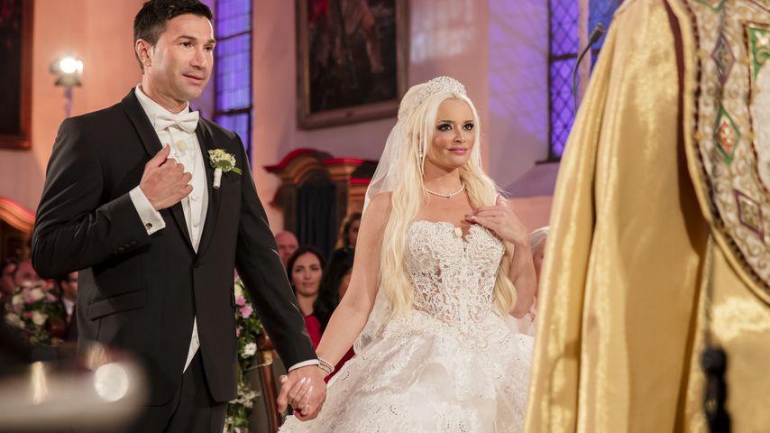 Lucas Cordalis & Daniela Katzenberger auf ihrer Hochzeit