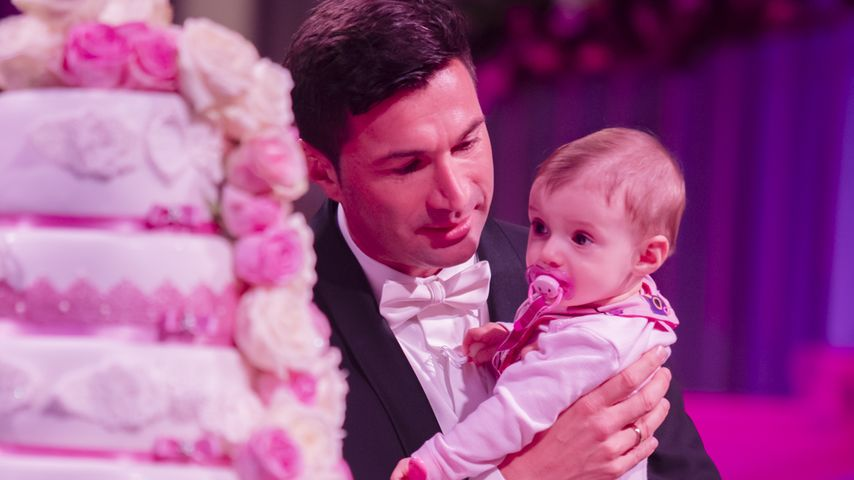 Lucas Cordalis mit seiner Tochter Sophia