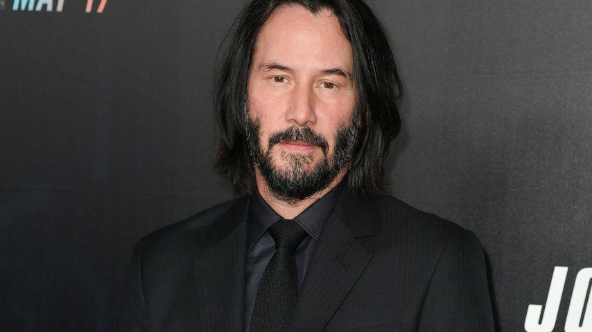"""Keanu Reeves bei der Premiere von """"John Wick: Kapitel 3"""" in New York"""