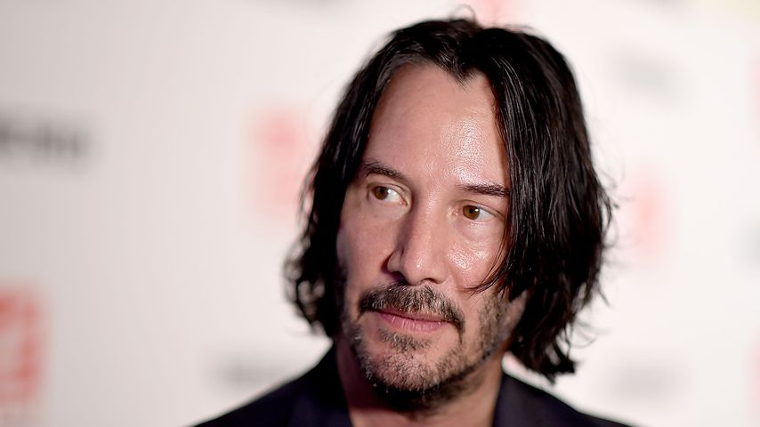 "Keanu Reeves bei der ""Siberia""-Premiere in New York City 2018"