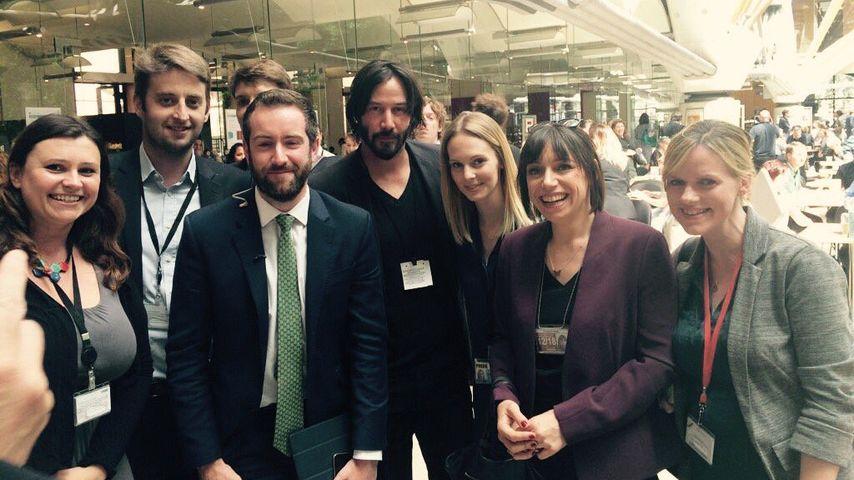 """Brexit-""""Retter""""? Keanu Reeves besucht britisches Parlament"""