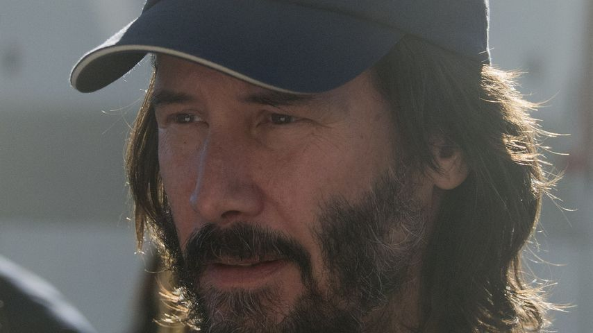 Keanu Reeves im November 2017