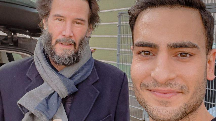"""""""Idol"""": Timur Ülker trifft auf Hollywoodstar Keanu Reeves"""