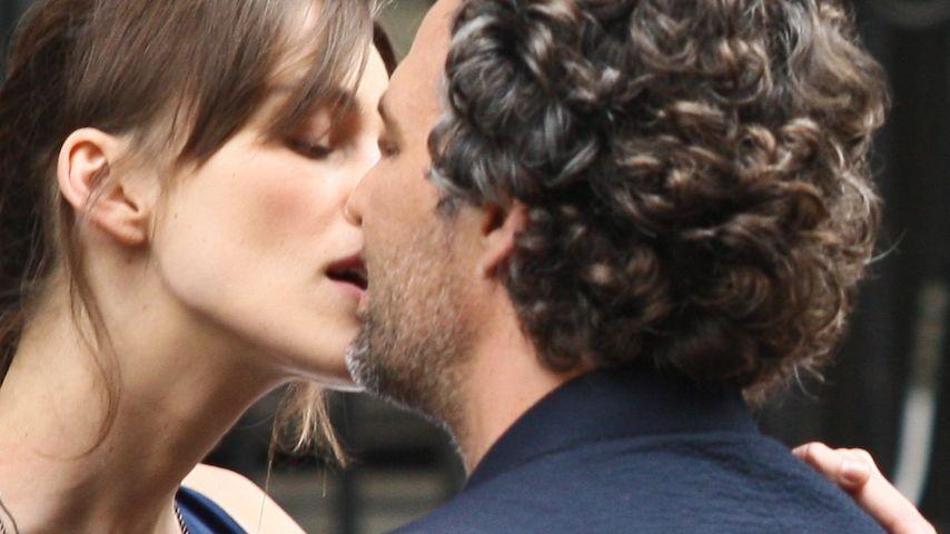 Filmreif: Keira Knightley & Mark Ruffalo knutschen