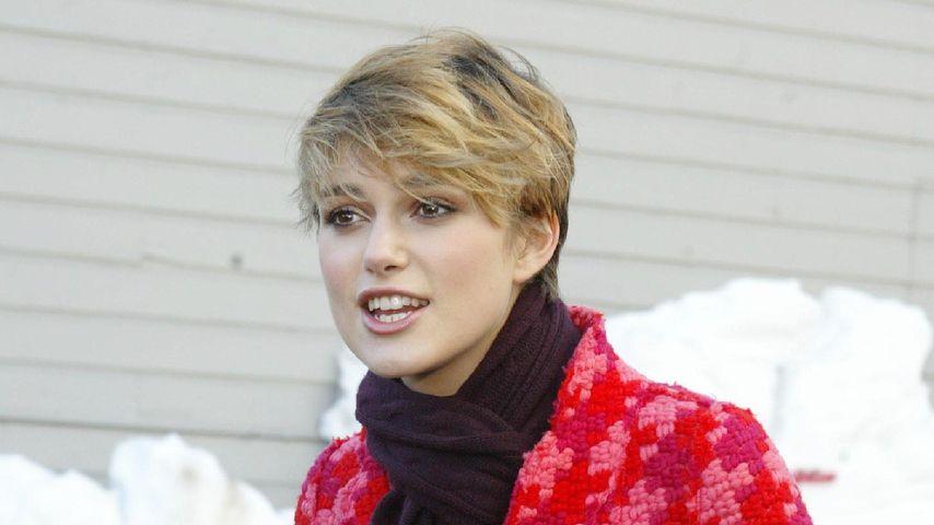 Keira Knightley mit kurzen Haaren im Jahr 2005