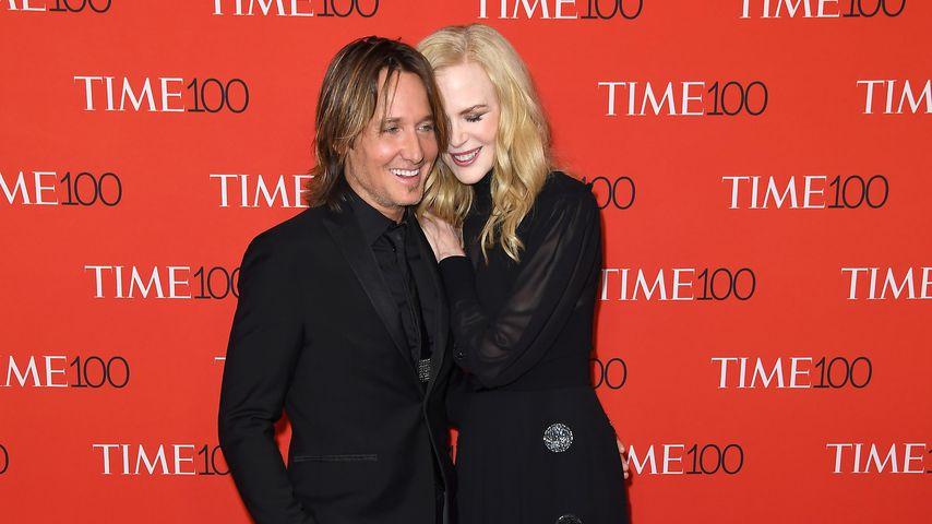 Keith Urban und Nicole Kidman bei der Time 100 Gala 2018 in New York City