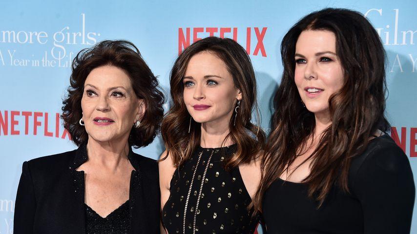 Kelly Bishop, Alexis Bledel und Lauren Graham in LA