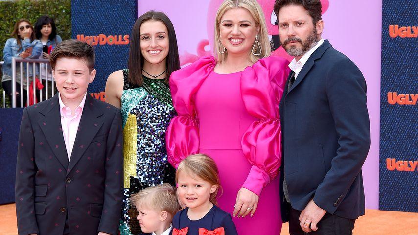 """Kelly Clarkson mit ihrer Familie bei der """"Ugly Dolls""""-Premiere"""