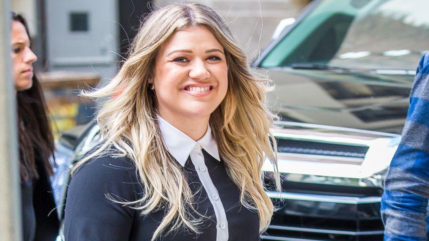 Kelly Clarkson in New York