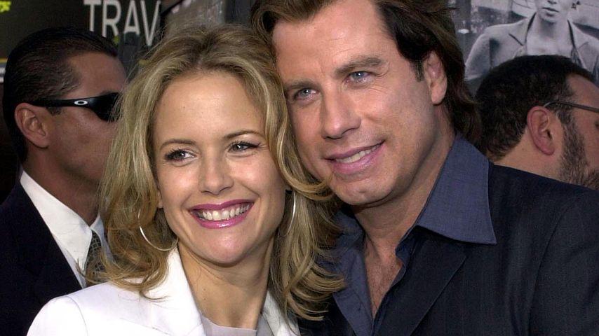 """Kelly Preston und John Travolta bei der """"Swordfish""""-Premiere in L.A. im Juni 2001"""