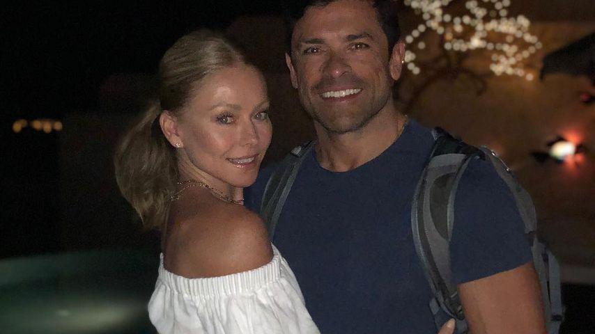 Kelly Ripa und Mark Consuelos in Mexiko