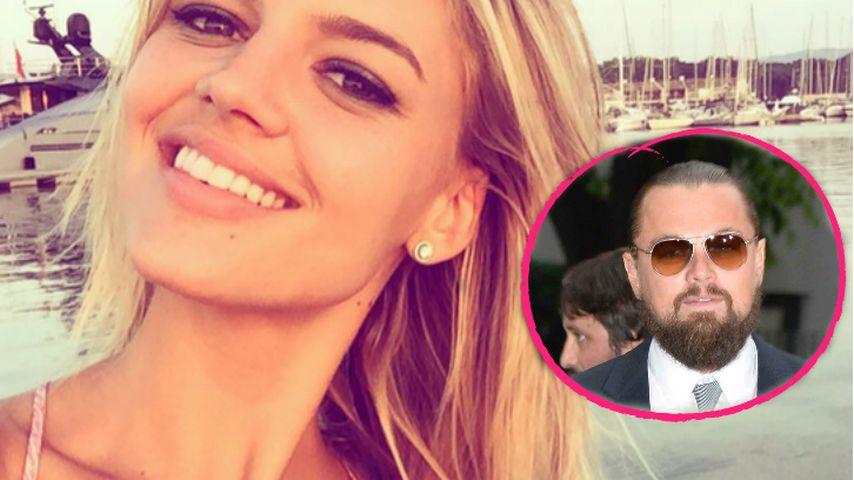 Keine Kurzromanze: Kelly Rohrbach feiert mit Leo DiCaprio