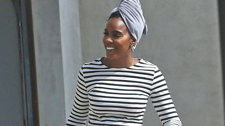 Sängerin Kelly Rowland in Los Angeles, Oktober 2020