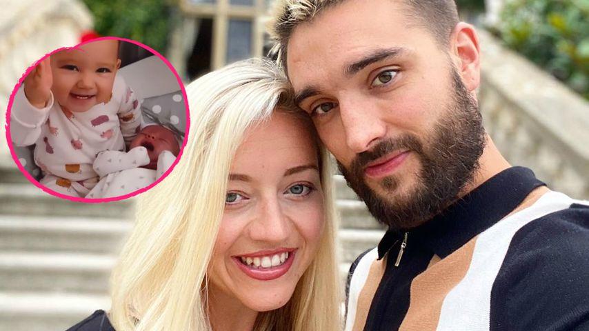 Ehefrau von an Krebs erkranktem Tom Parker teilt Babyvideo