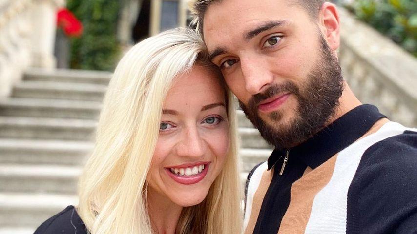 Kelsey und Tom Parker im August 2020