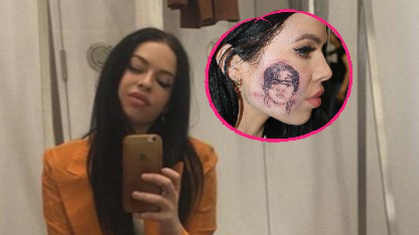 Sängerin Kelsy Karter: Harry Styles-Tattoo ist nur ein Fake!