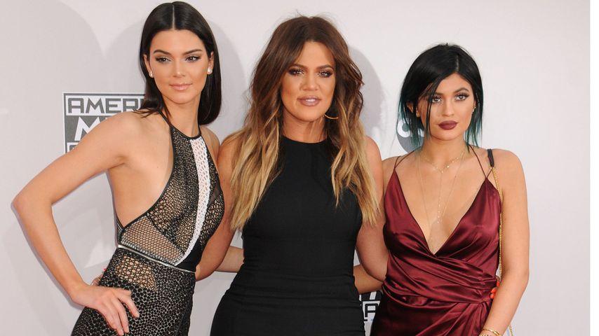 Kendall Jenner, Khloe Kardashian und Kylie Jenner bei den American Music Awards 2014
