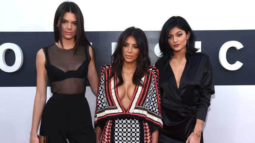 Kendall Jenner, Kim Kardashian und Kylie Jenner bei den MTV Video Music Awards 2014