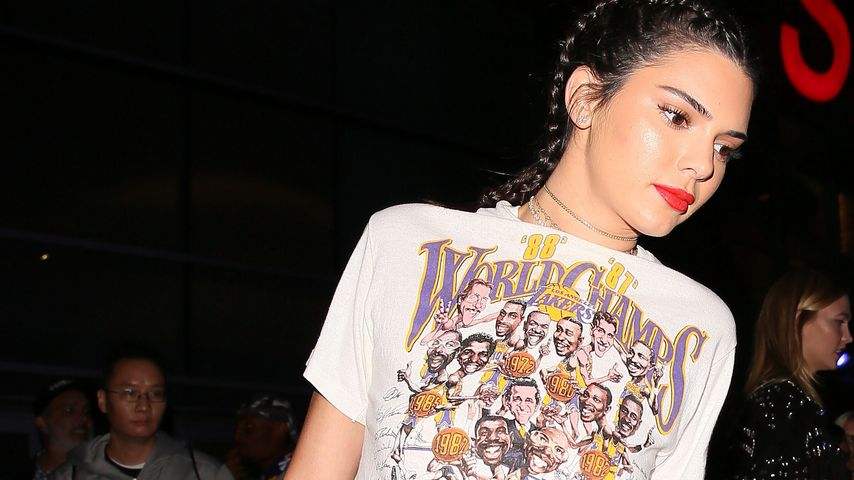 Kendall Jenner nach einem Lakers-Spiel in Los Angeles