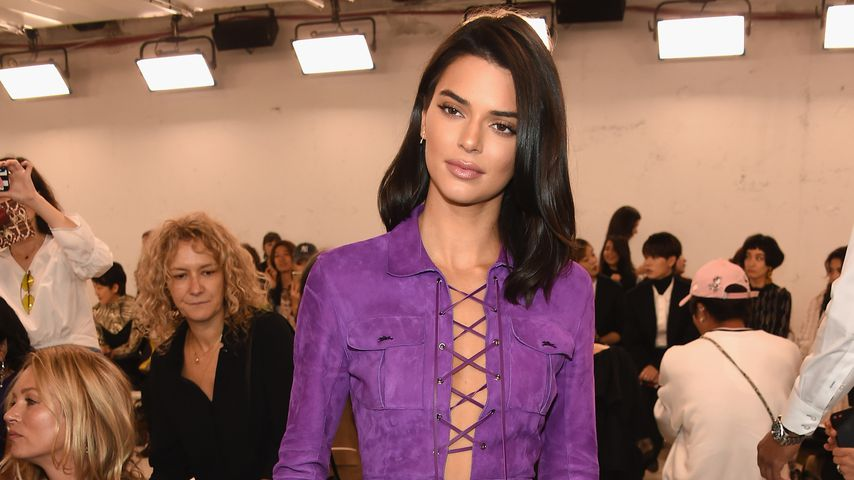 Kendall Jenner bei der New York Fashion Week