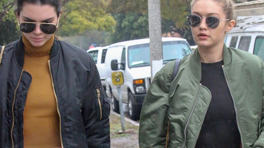 Partnerlook: Kendall Jenner & Gigi Hadid als Fashion-Twins