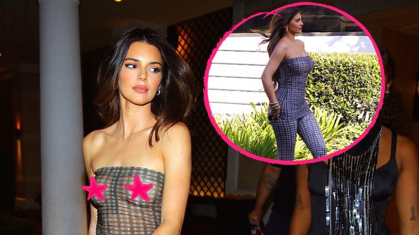 Jenner-Schwestern im gleichen Outfit: Wem steht es besser?