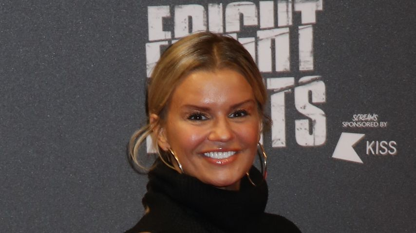 Kerry Katona bei der Thorpe Park Fright Night
