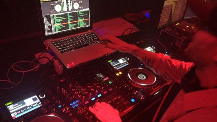 Kevin Federline am DJ-Pult