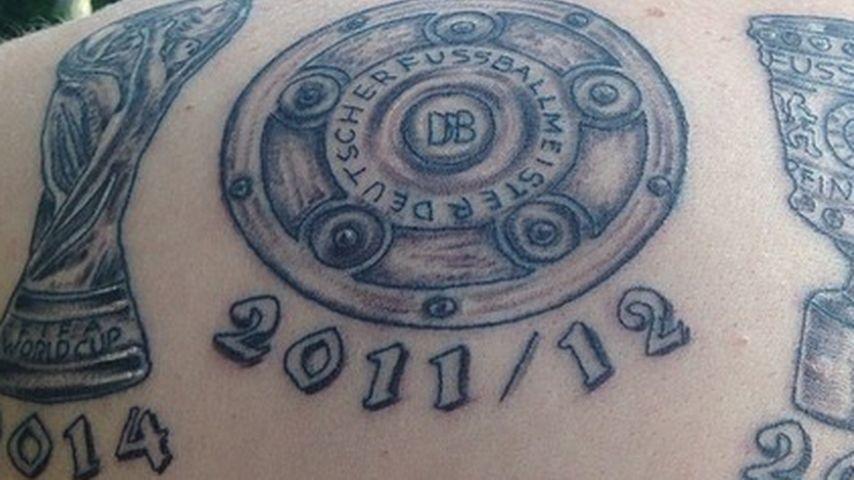Kevin Großkreutz postet weltmeisterliches Tattoo