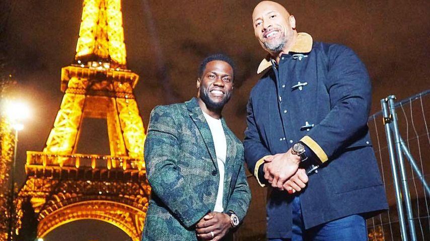 "Kevin Hart und Dwayne ""The Rock"" Johnson"