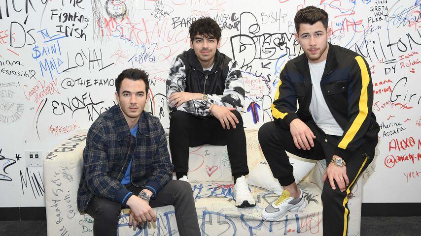 Kevin, Joe und Nick Jonas im März 2019