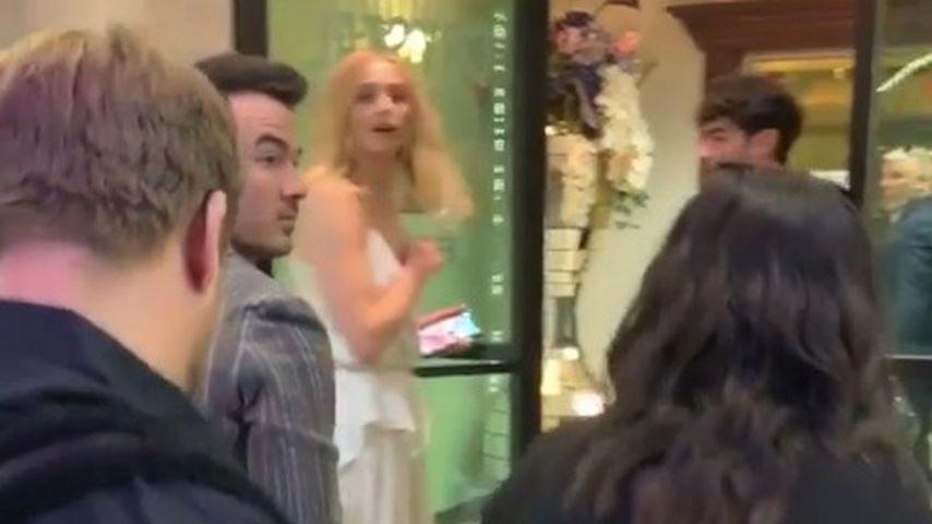 Kevin Jonas und Sophie Turner in Las Vegas 2019