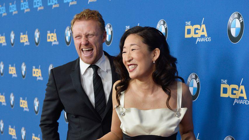Kevin McKidd und Sandra Oh im Jahr 2014