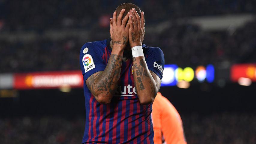 Kevin-Prince Boateng bei seiner FC Barcelona-Premiere im Februar 2019