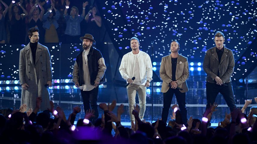 Kevin Richardson, Howie Dorough, Nick Carter, Brian Littrell und A.J. McLean, 2019