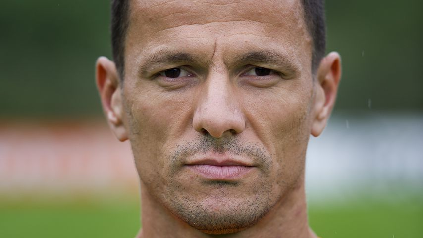 Khalid Boulahrouz beim Training der Niederländischen Fußballnationalmannschaft