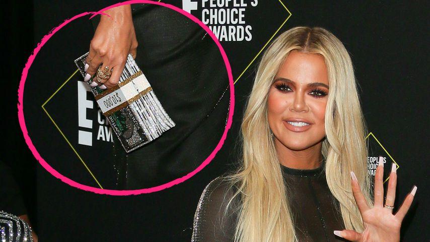 Protzig? Khloe Kardashian trägt 10.000-Dollar-Handtasche