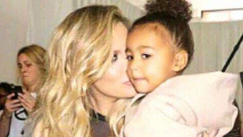 Khloe Kardashian und North West