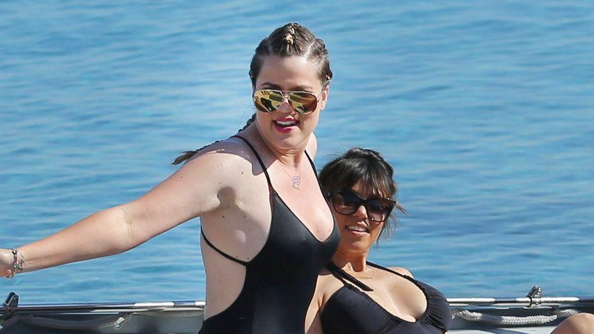 10 kilo weg khloe kardashian zeigt bikinibody
