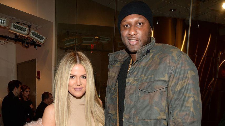 Khloe Kardashian und ihr baldiger Ex-Mann Lamar Odom