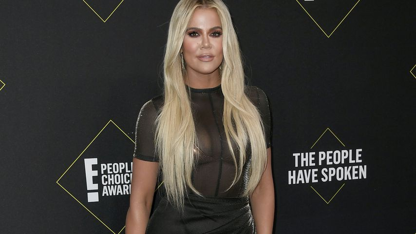Khloe Kardashian bei den People's Choice Awards 2019