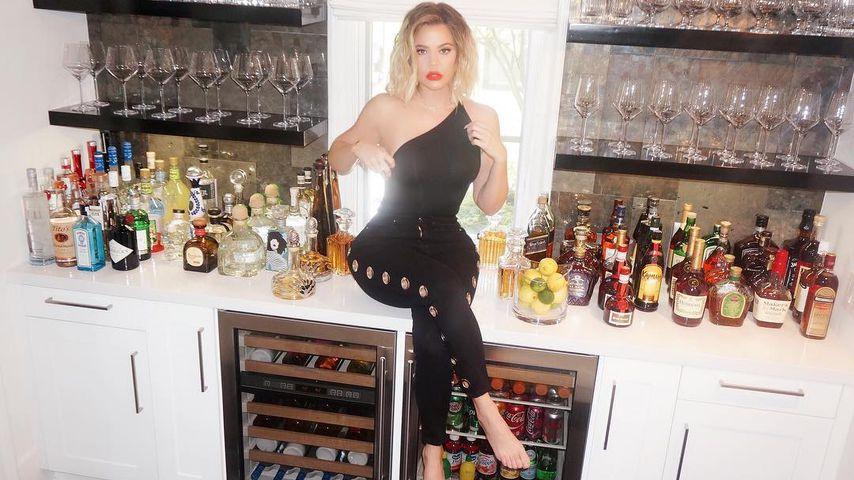 Alkohol-Alarm! Khloe Kardashians Pic sorgt für Entsetzen