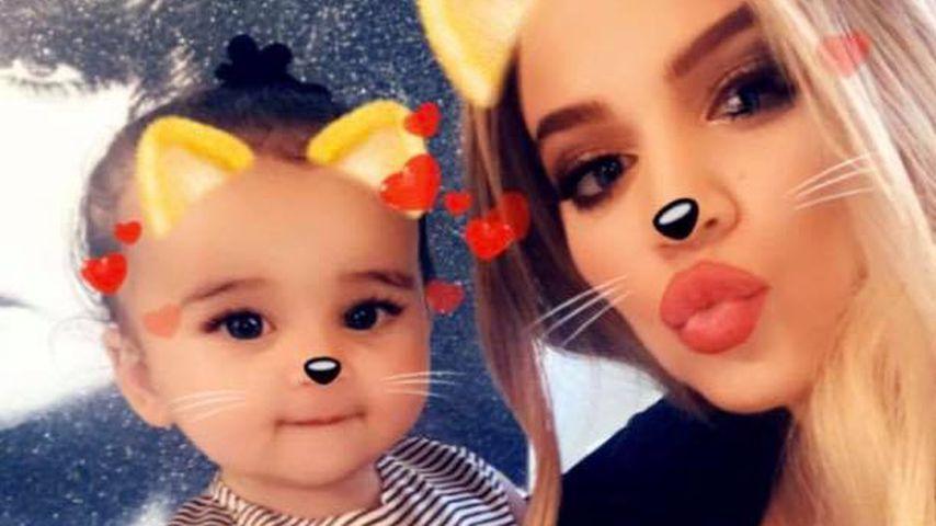 Mit Dream & Nori: Übt Khloe Kardashian hier ihre Mama-Rolle?