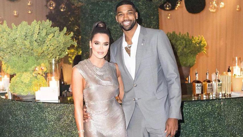 Khloé Kardashian und Tristan Thompson im März 2021