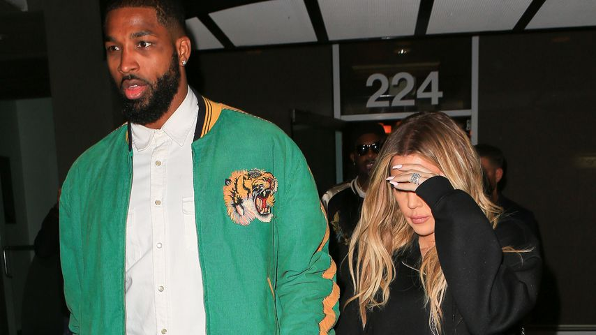 Tristan Thompson und Khloe Kardashian in Beverly Hills